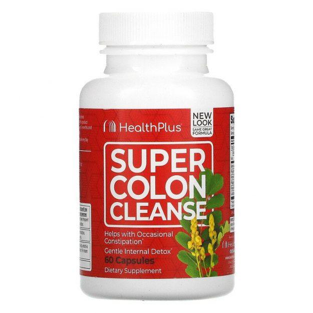 Super Colon Cleanse Health Plus 60 capsule prix maroc